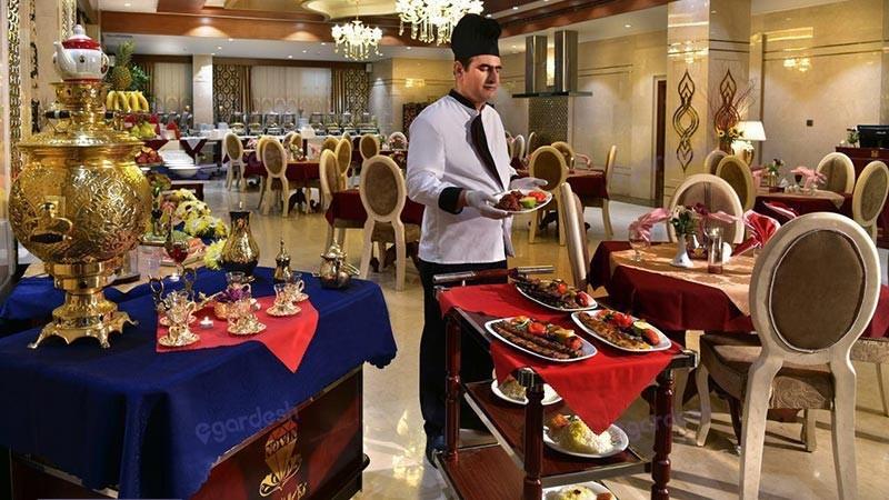رستوران هتل الماس نوین
