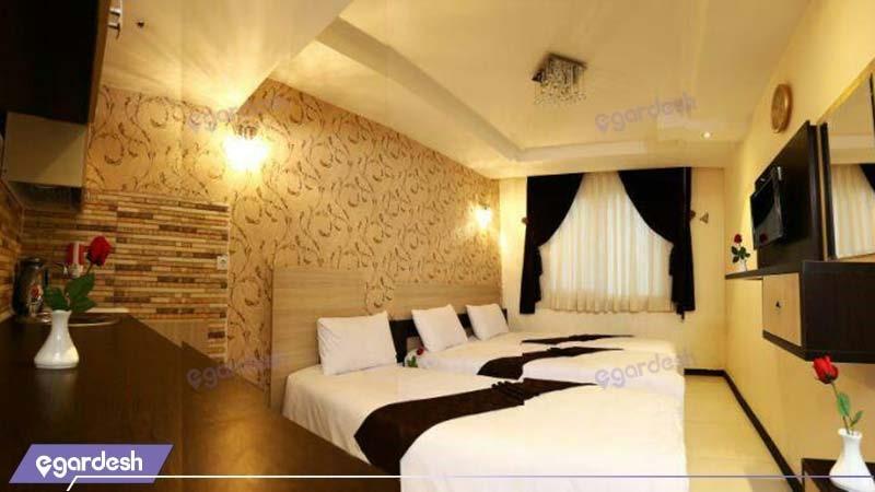 اتاق سه تخته هتل انصار