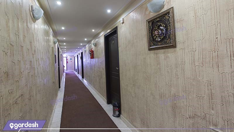 راهرو هتل عرش مشهد
