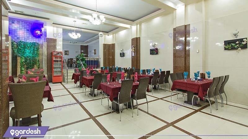 رستوران هتل عرش