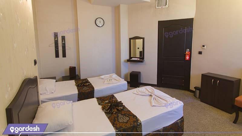 اتاق دو تخته هتل عرش