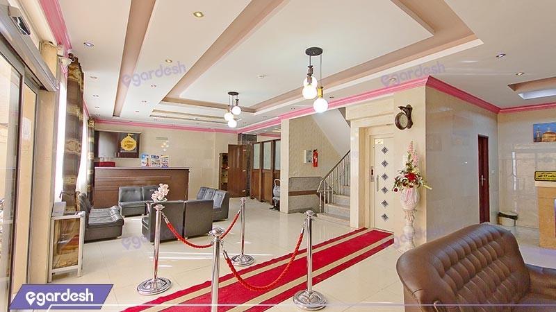 لابی هتل آپارتمان آیسان