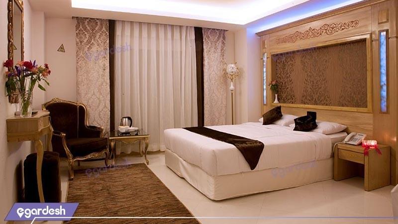 اتاق دو تخته دبل  هتل آپارتمان بشری