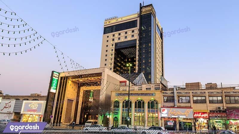 نمای ساختمان هتل مجلل درویشی