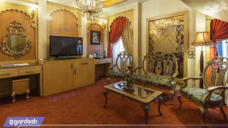 اتاق دوبلکس هند هتل مجلل درویشی