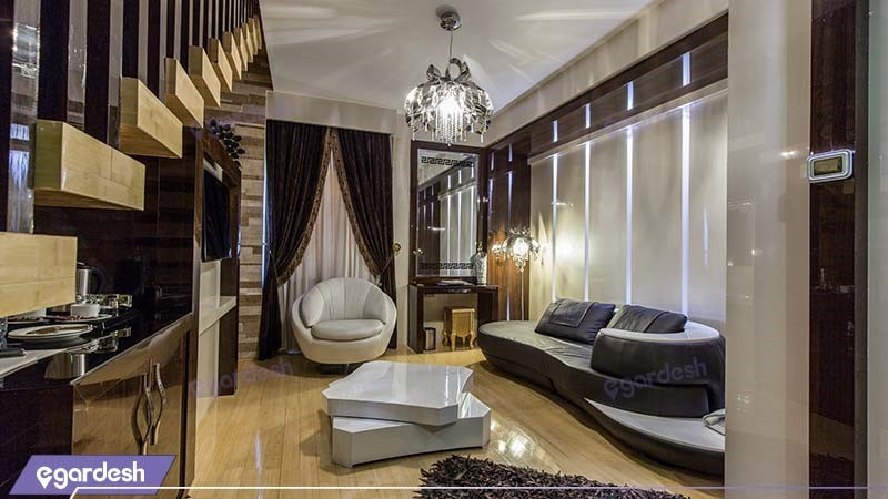 اتاق دوبلکس پرزیدنتال هتل مجلل درویشی