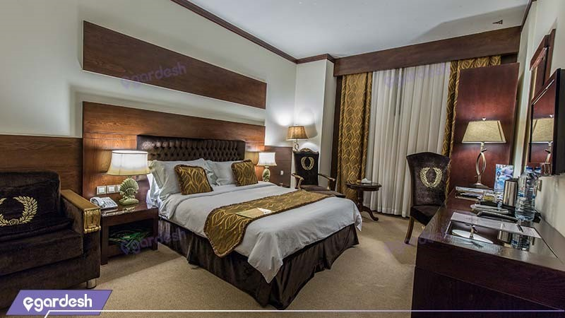 اتاق دبل فصل هتل مجلل درویشی