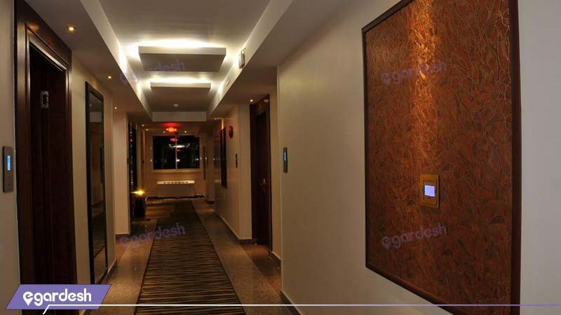 راهرو هتل دیپلمات مشهد