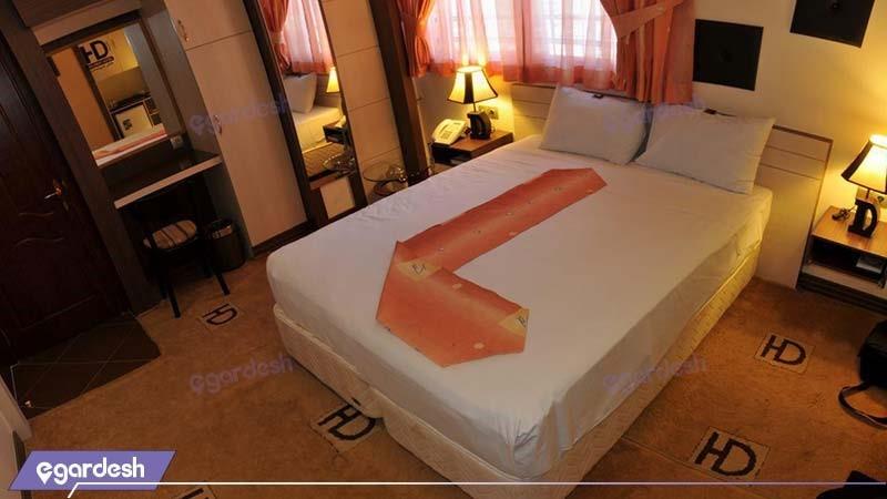 اتاق دبل هتل دیپلمات مشهد
