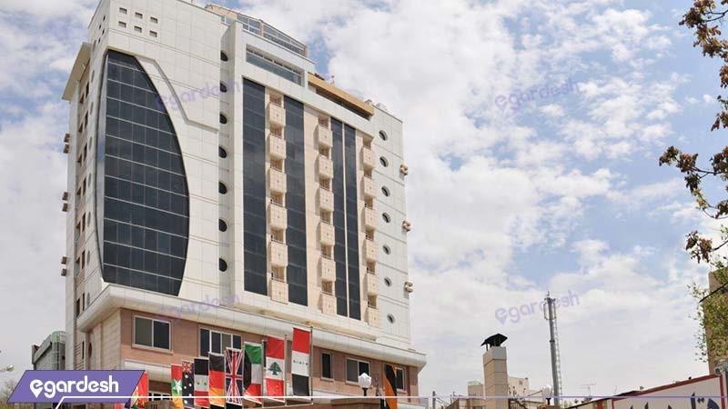 نمای ساختمان هتل دیپلمات مشهد