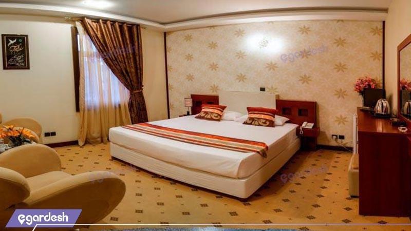 اتاق دو تخته دبل  هتل فرهنگ وهنر