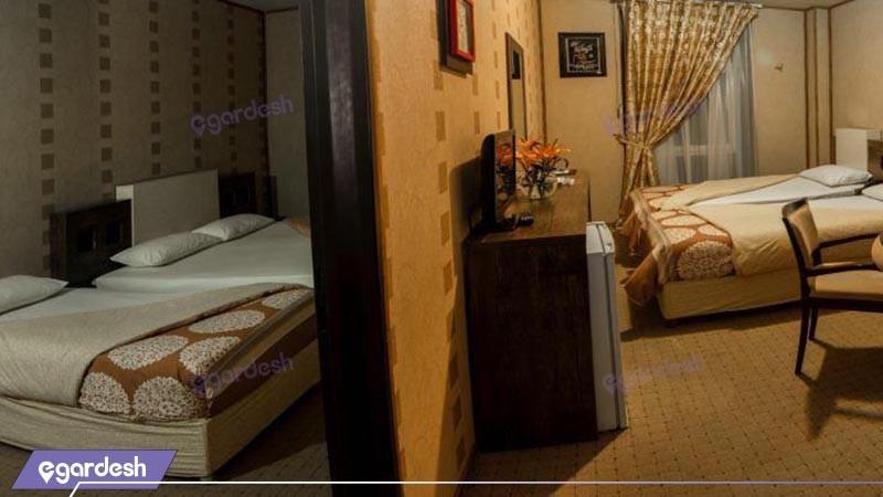 اتاق پنچ تخته هتل و فرهنگ و هنر