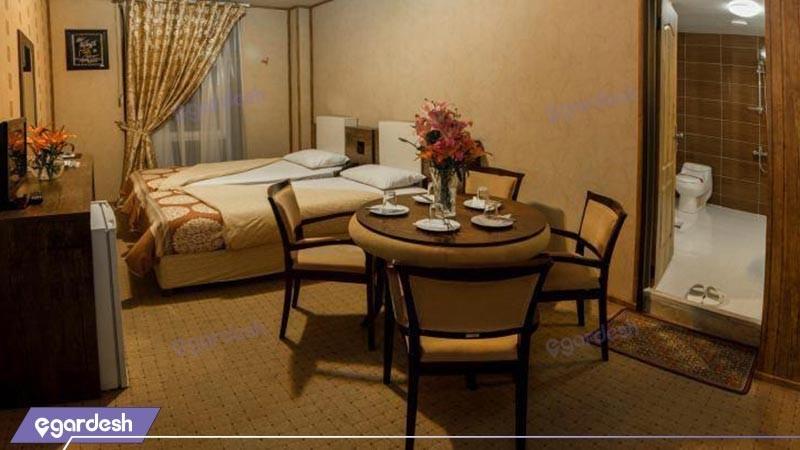 اتاق دو تخته توئین هتل فرهنگ وهنر