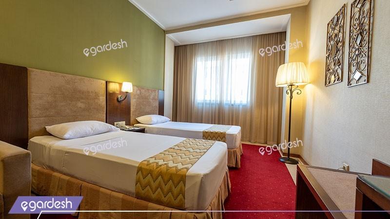 اتاق دو تخته توئین هتل فردوس