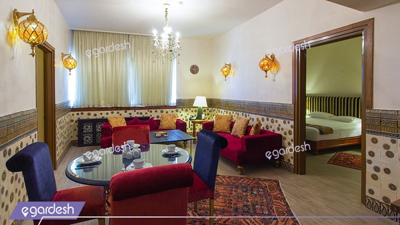آپارتمان دو خوابه هتل فردوس