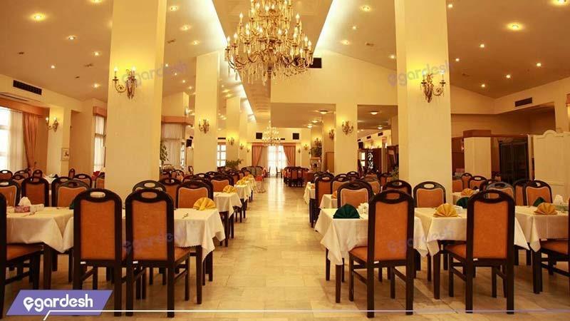 رستوران هتل بزرگ فردوسی مشهد