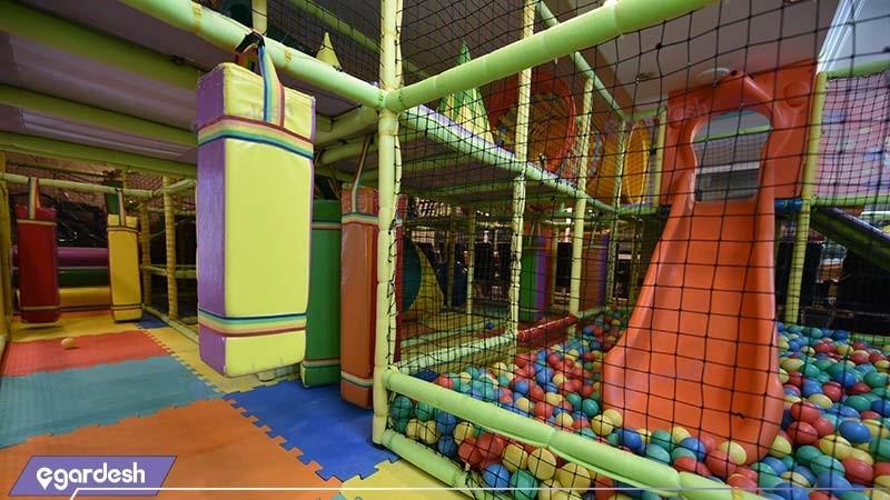 اتاق بازی کودکان هتل بین المللی قصر