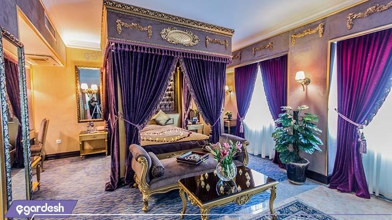 اتاق پرنسس هتل بین المللی قصر