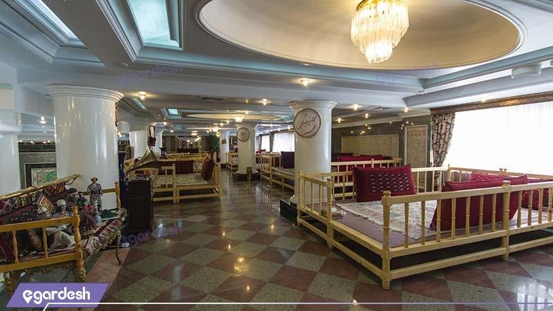 رستوران سنتی هتل بین المللی قصر