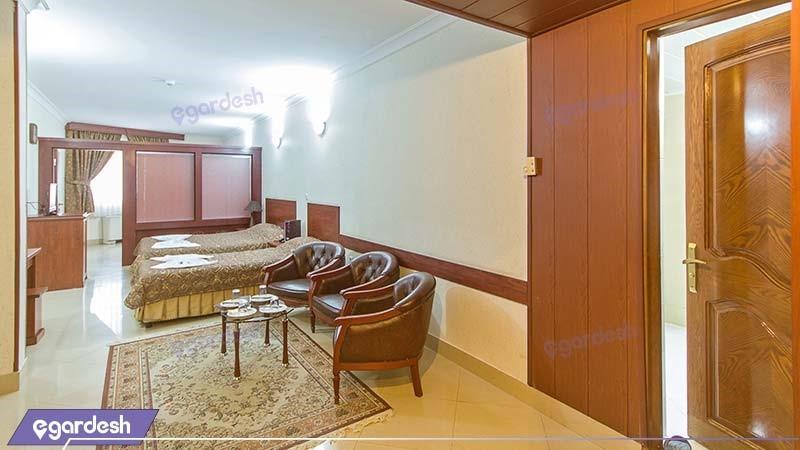 اتاق پنج نفره هتل هلیا مشهد