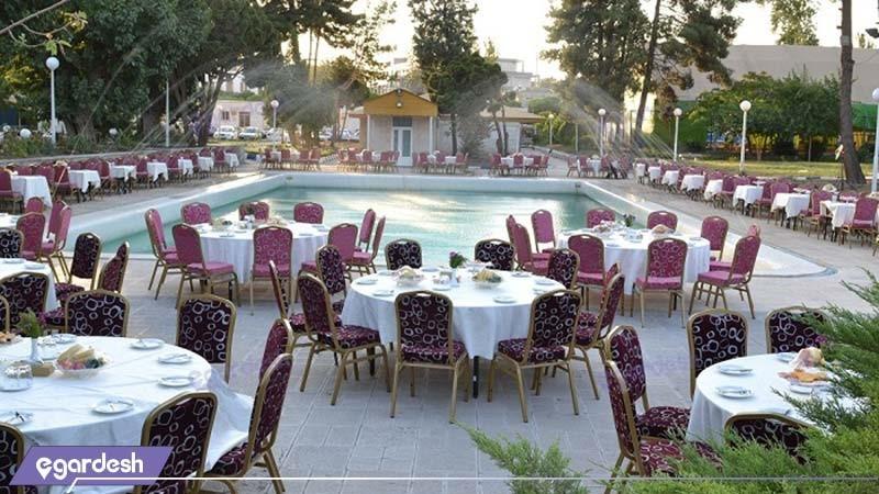 رستوران تابستانه هتل هما 1