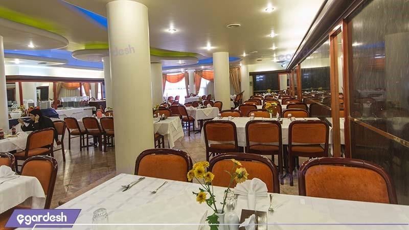 رستوران هتل ایران مشهد