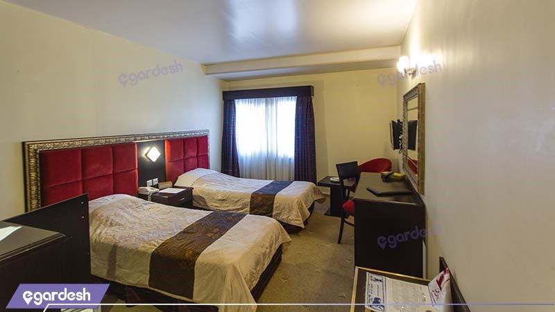 اتاق دو نفره هتل ایران مشهد