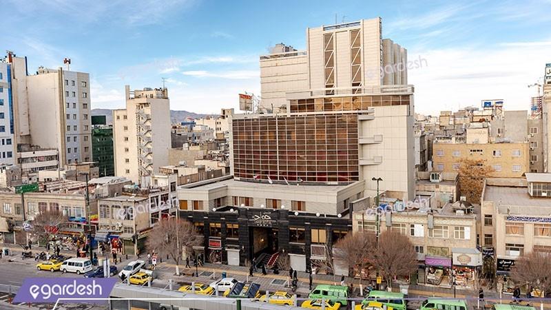 نمای ساختمان هتل جواد