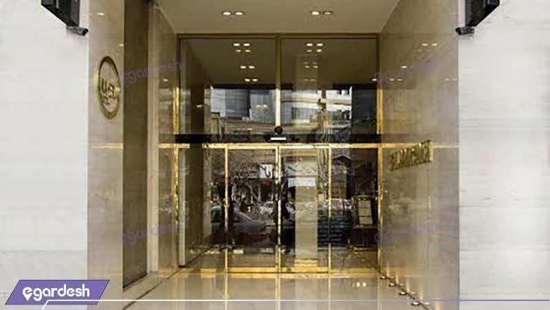 ورودی هتل جواهر شرق