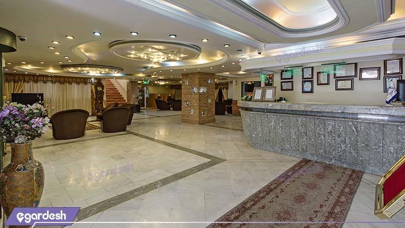 پذیرش هتل خانه سبز
