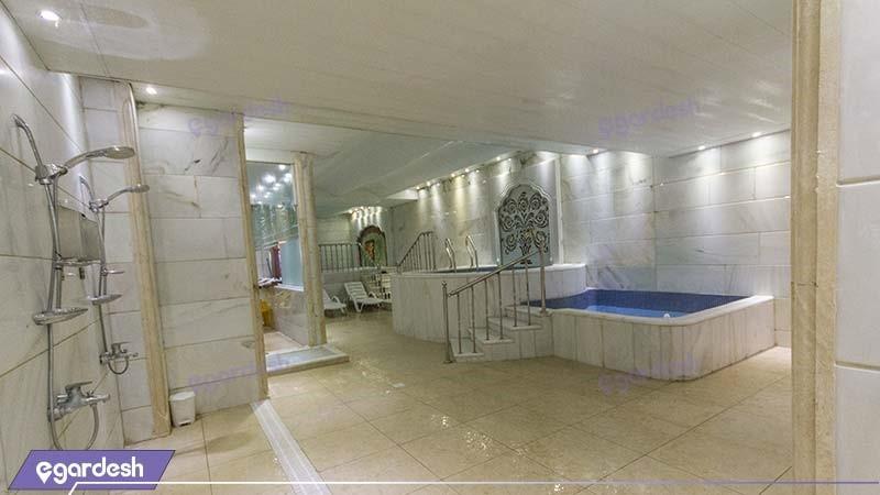 جکوزی هتل کیانا