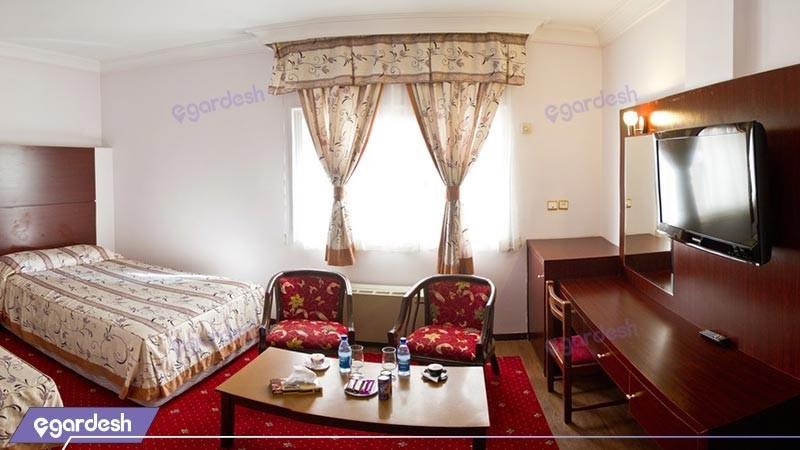 اتاق دو تخته توئین هتل مشهد