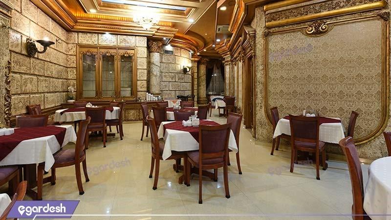 رستوران هتل میامی