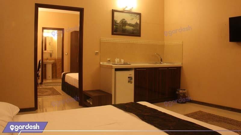 سوئیت یک خوابه هتل منجی
