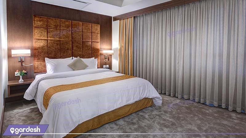 اتاق دو تخته دبل  هتل نگین پاسارگاد