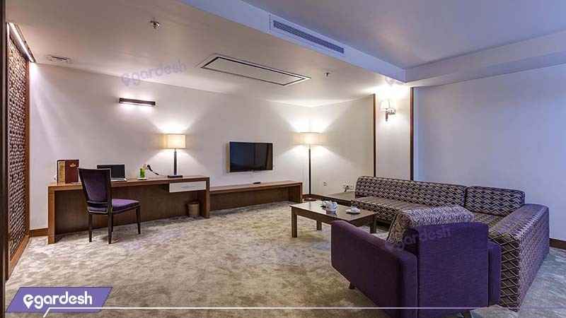 آپارتمان یک خوابه سه نفره هتل نگین پاسارگاد
