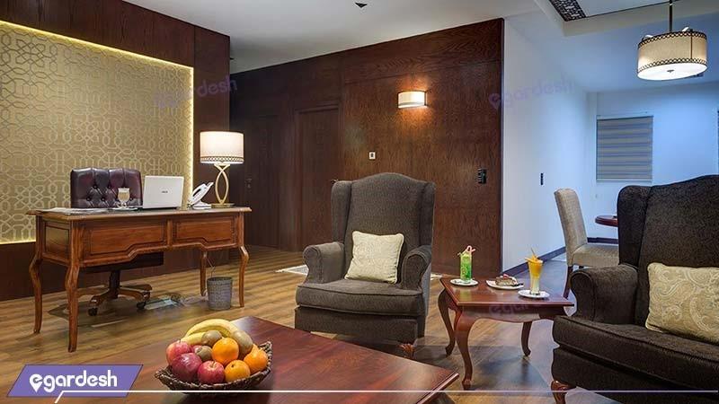 اتاق دو تخته دبل  رویال هتل نگین پاسارگاد