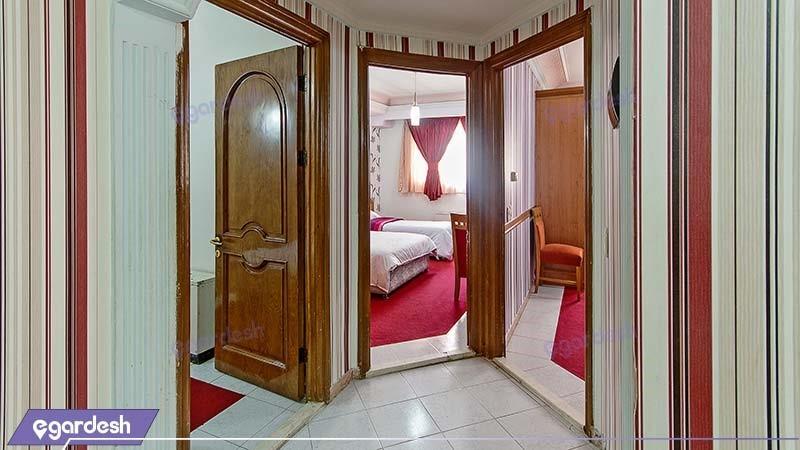 آپارتمان سه خوابه هتل نور