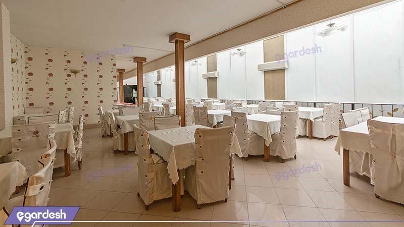 رستوران هتل نور