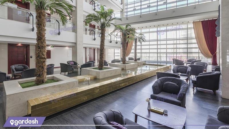 لابی هتل آپارتمان امید