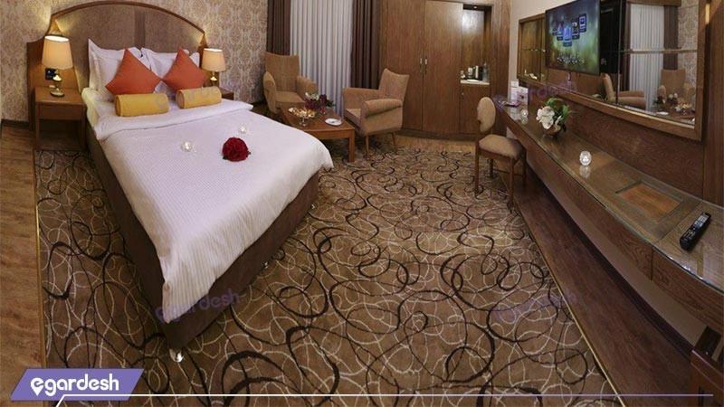اتاق دو تخته دبل لوکس هتل پردیسان
