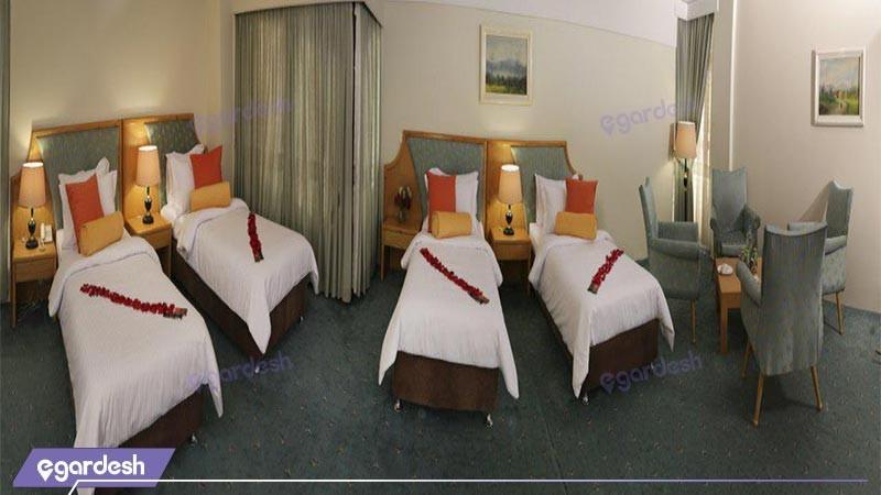 اتاق امپریال رویال هتل پردیسان
