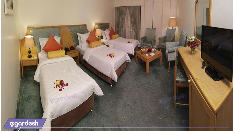 اتاق سه تخته رویال کلاسیک هتل پردیسان