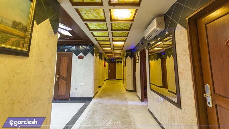 راهرو هتل پارمیدا مشهد