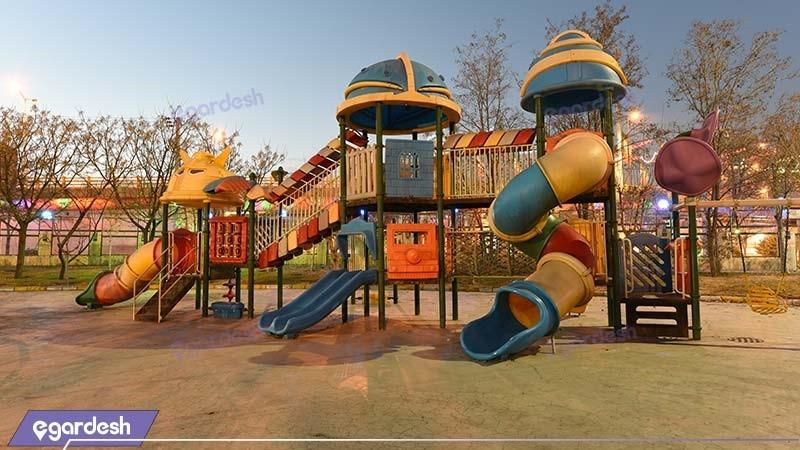 زمین بازی کودکان هتل پارس مشهد
