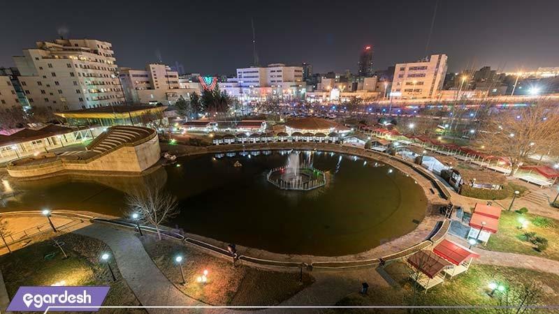 منظره هتل پارس مشهد
