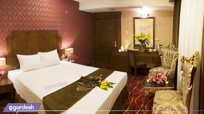 اتاق دو تخته دبل هتل پارسیس