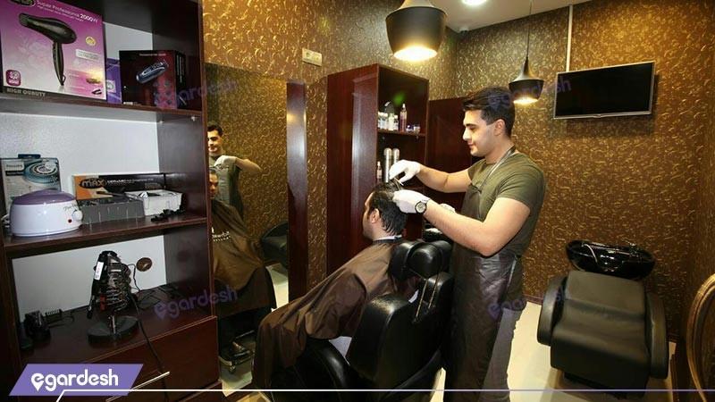 سالن زیبایی هتل پارسیس