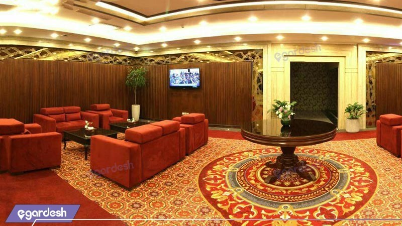 سالن چای هتل پارسیس