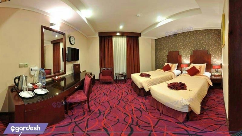اتاق دو تخته توئین هتل پارسیس